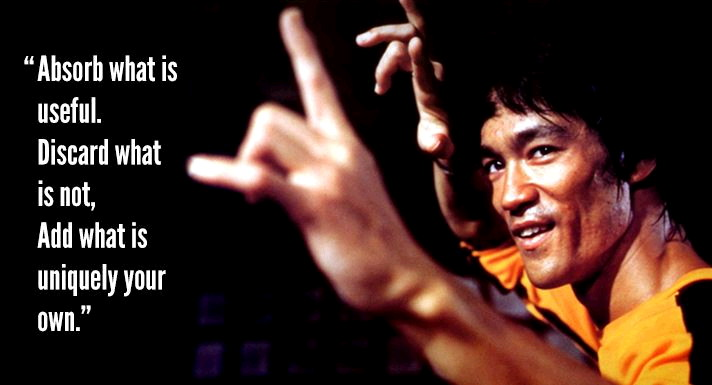 Bruce Lee: Absorb What is Useful