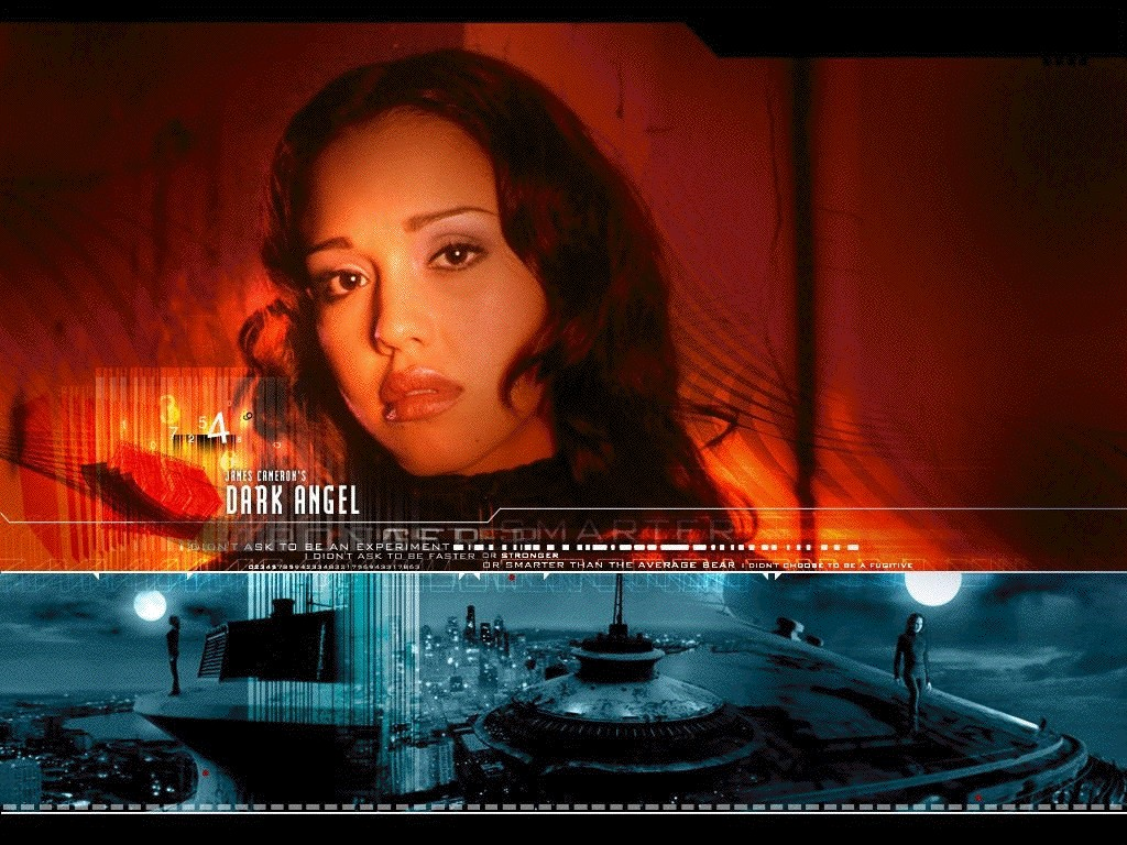 "Jessica Alba in ""Dark Angel"""