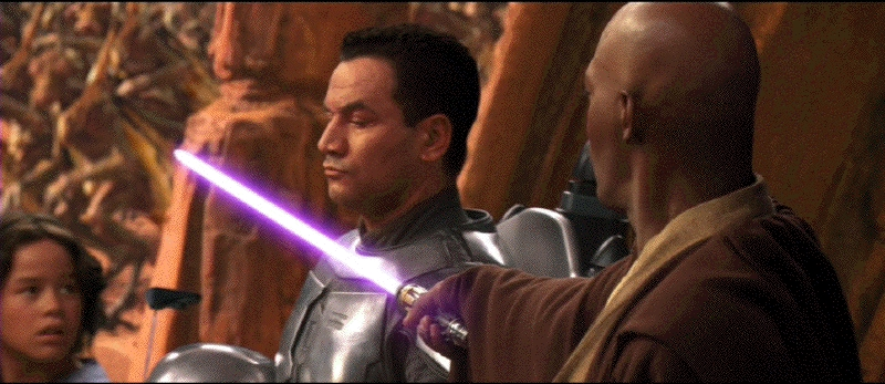 Aggressive Negotiations 1:  Mace and Jango Fett (strike)  Some Pesky Spammer