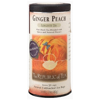 Republic of Tea's Ginger Peach tea