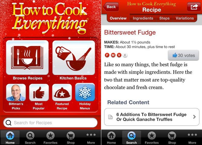 How to Cook Everything App