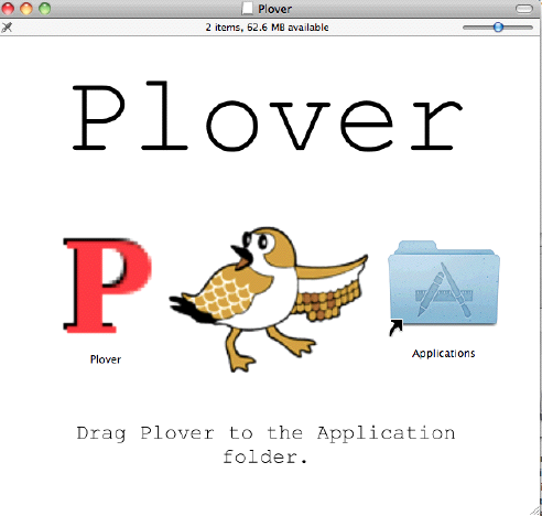 Mac Plover Installation