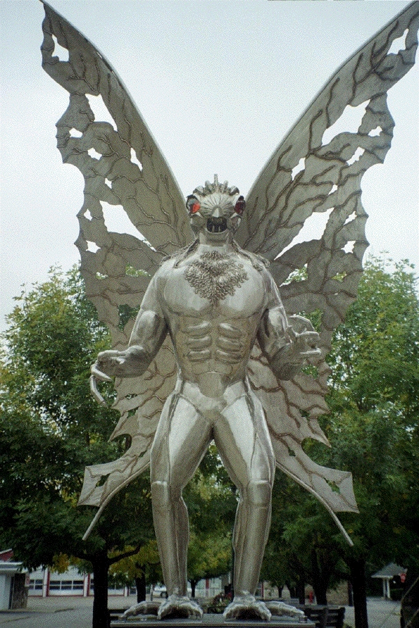 Point Pleasant, VA commemorates the Mothman with a statue