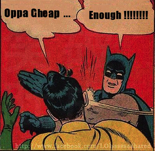 Oppa Cheap and Sleazy Style