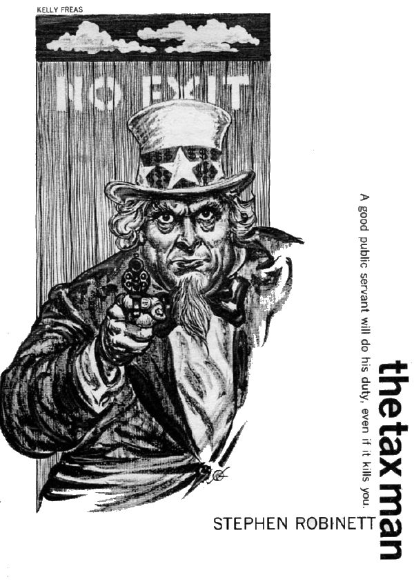 The Tax Man, by Kelly Freas