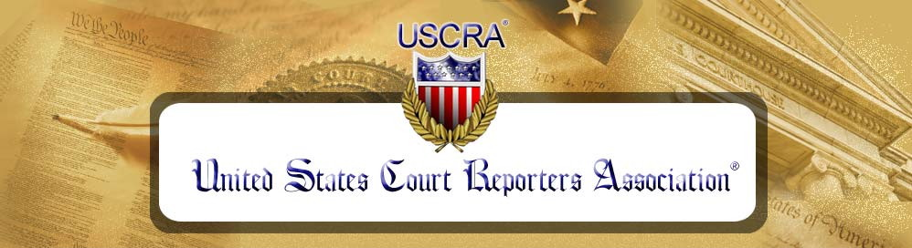 United States Court Reporting Association Logo